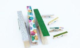 10 Ideias de Artesanato com Washi Tape