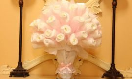 Como Fazer Bouquet de Fraldas Descartáveis