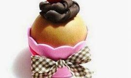 Como Fazer Cupcake de EVA 3D