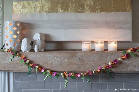 Read more about the article Flores de Papel para Decoração Passo a Passo com Molde
