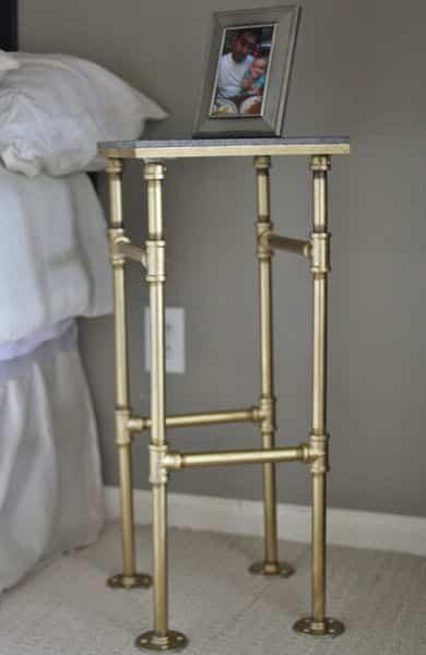 Com este criado-mudo moderno qualquer decoração é renovada (Foto: bakerette.com)