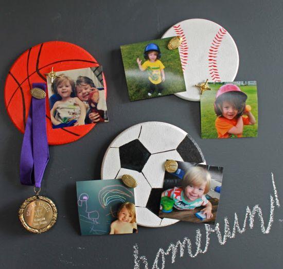 Read more about the article Como Fazer Porta-Retrato Infantil Esportivo