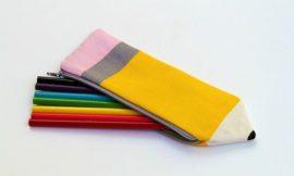 Como Fazer uma Bolsa Lápis em Tecido
