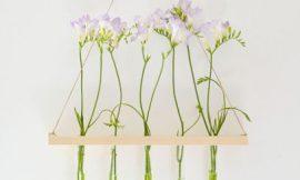 Como Fazer Suporte de Madeira para Flores