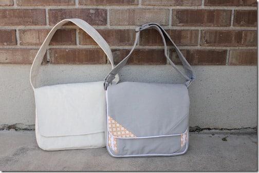 Faça para os seus filhos esta bolsa infantil para material de desenho (Foto: hillmade.blogspot.com.br)