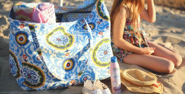 Read more about the article Como Fazer Bolsa de Praia – Passo a Passo