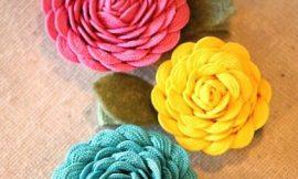 Como Fazer Flor de Sianinha