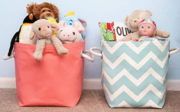 Read more about the article Como Fazer Organizador de Brinquedos para Quarto