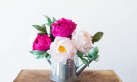 Como Fazer Rosas de Papel Crepom