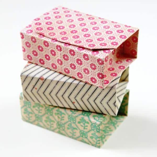 Read more about the article Como Fazer Caixas de Origami com Tampa