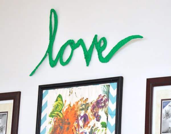 Read more about the article Como Fazer Decoração com a Palavra Love