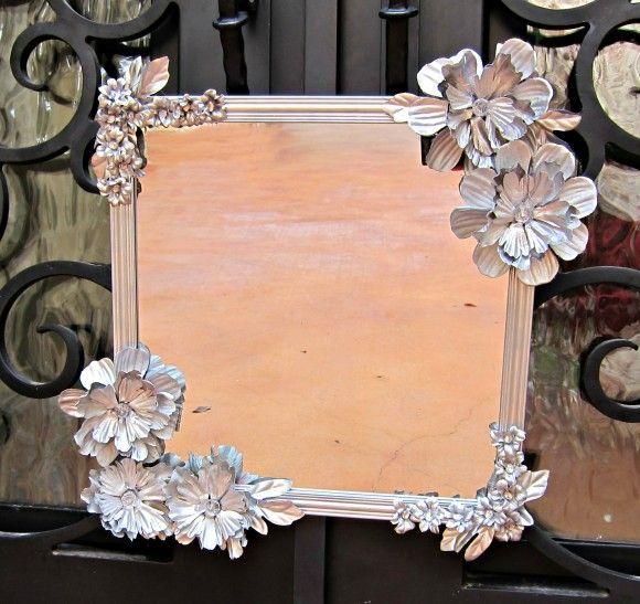Read more about the article Como Decorar um Espelho com Flores Artificiais