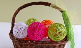 Como Fazer Bolas Decorativas de Lã