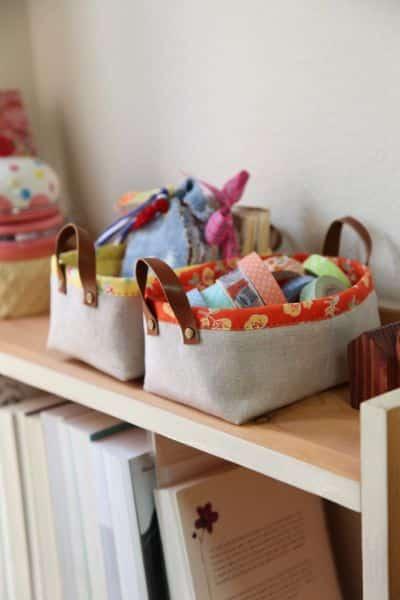 Este organizador em tecido pode ter várias combinações de estilo, escolha a sua preferida (Foto: minkikim.com)