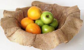 Como Fazer uma Fruteira de Juta