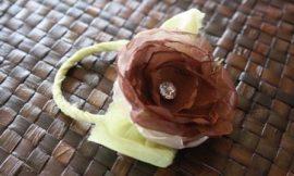 Como Fazer Flor para Porta-Guardanapo