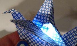 Como Fazer Origami com LED