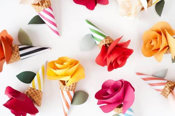 Read more about the article Como Fazer Cone com Flor