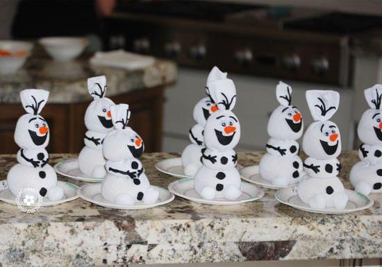 Olaf de meia é fofo e simpático (Foto: onecreativemommy.com)