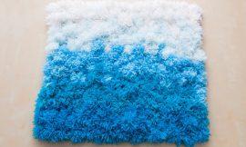 Como Fazer Tapete de Pompom de Lã