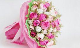 Como Fazer uma Flor com Bombom Dentro
