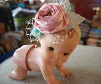 Read more about the article Enfeite de Cabelo para Bebê com Flores