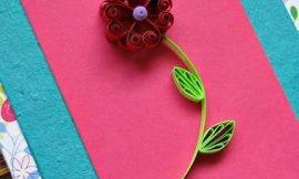 Como Fazer Flor de Quilling Fácil