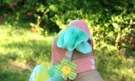 Como Fazer Sapatinho de Bebê em Tecido