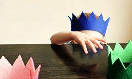 Como Fazer Coroa de Feltro