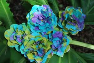 Read more about the article Como Fazer Flores Coloridas de Jornal