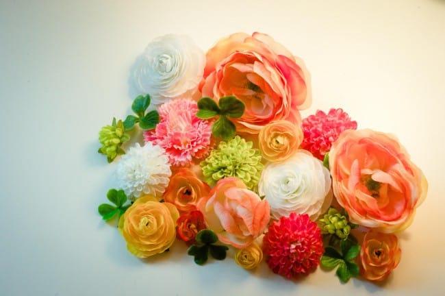 Passo a Passo de Letras Decoradas com Flores
