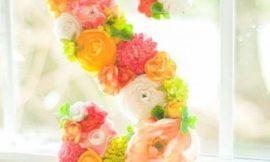 Como Fazer Letras Decoradas com Flores