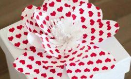 Como Fazer Flores de Papel Bonitas e Fáceis