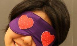 Como Fazer Máscara de Dormir Romântica