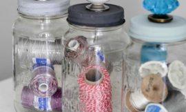 Como Fazer Artesanato com Reciclagem de Potes