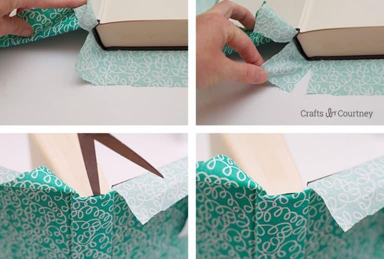 Forrar Livros com Tecido