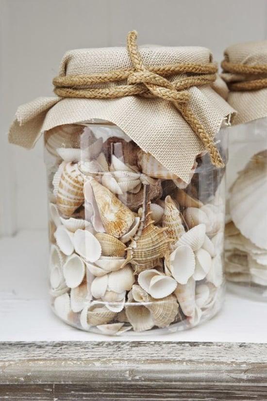 Artesanato com Potes de Vidro Usados