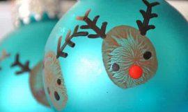 Como Fazer Bolas de Natal Decoradas