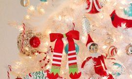 Como Fazer Enfeite de Natal com Fita