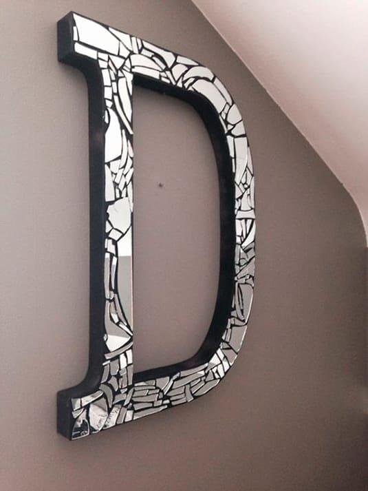 Dicas de Artesanato com Espelho Quebrado