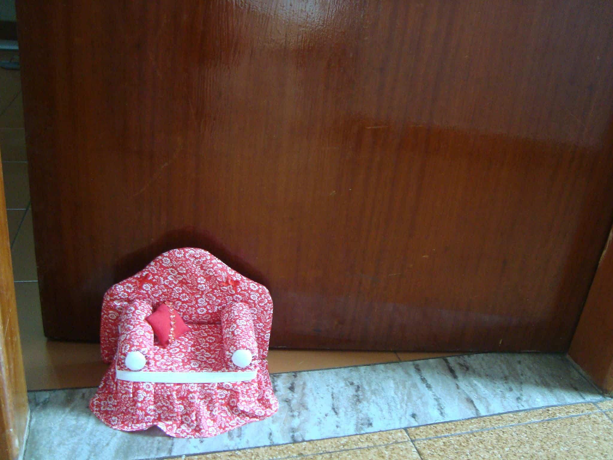 moldes de peso de porta em tecido