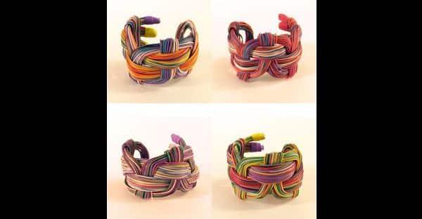 bracelete de fio de telefone