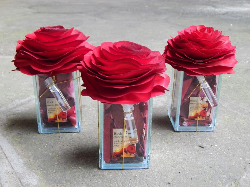 lembrancinha de casamento de flor