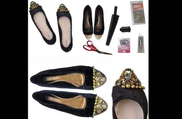 customização de sapatilha
