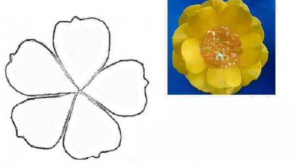 You are currently viewing Molde de Flores para Imprimir