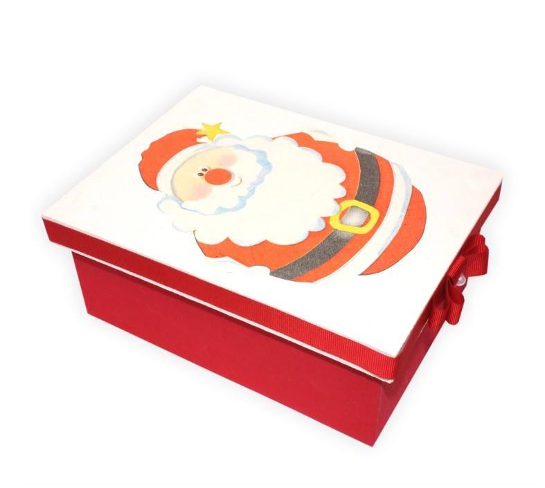 caixa de mdf para o natal