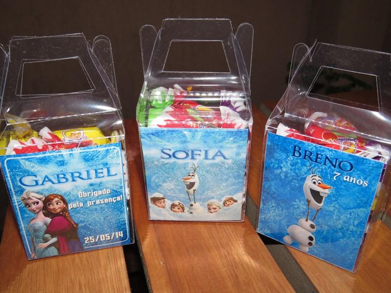 caixa doce da frozen