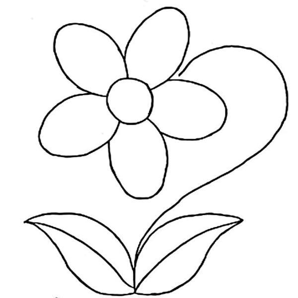 molde de flor com folhas