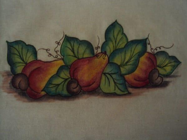 pintura com giz de cera caju