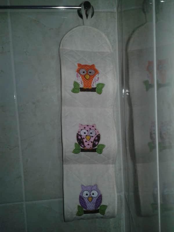 porta papel higiênico bordado